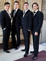 Worldwide appeal: Sébastien, second right, with his Il Divo bandmates - il-divo photo