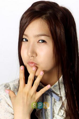 Korea Girls Group A Pink wallpaper containing a portrait entitled YooKyung