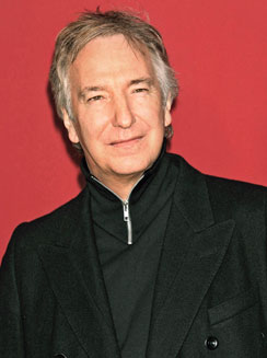 Alan Rickman karatasi la kupamba ukuta probably containing a well dressed person and a business suit titled alan rickman