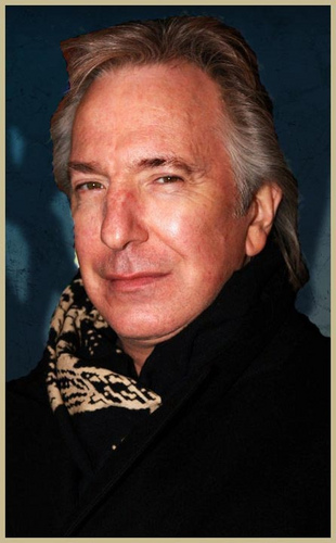 alan rickman handsome man