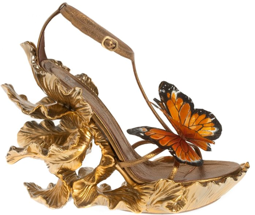butterfly dress shoes