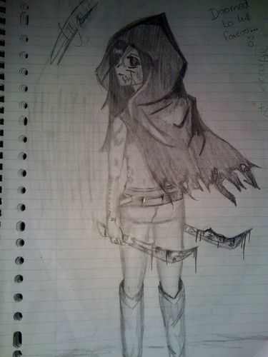 drawings made Von myself :3