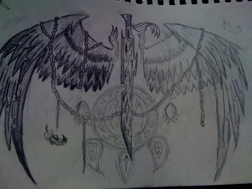 drawings made par myself :3