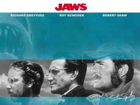 Jaws wallpaper possibly with a portrait entitled jaws