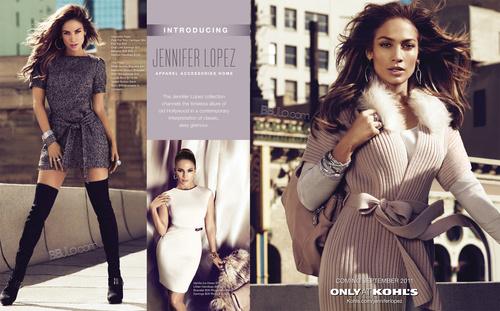 2011 jennifer lopez kohl's ad