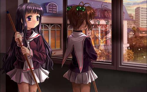 Takumi Usui x Misaki Ayuzawa karatasi la kupamba ukuta entitled kaichou wa maid sama