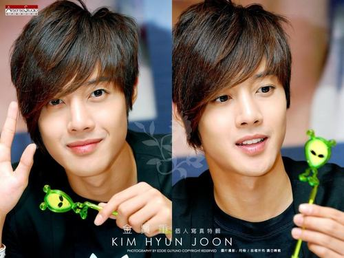 Kim Hyun Joong wallpaper possibly containing a portrait called kim hyun joong