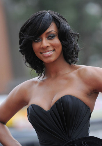 Keri Hilson wallpaper probably with a cocktail dress, a bustier, and a dinner dress entitled lick armpit