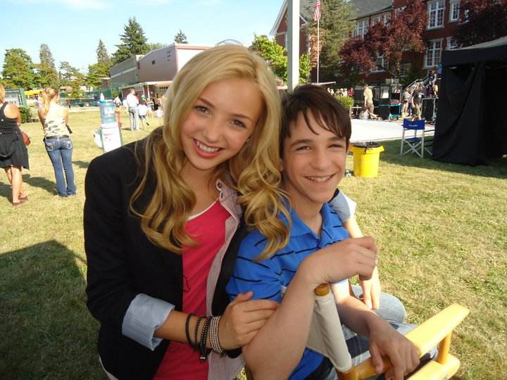 Zachary Gordon and Peyton List