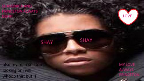 shay's lover :) haha