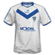 futebol wallpaper containing a jersey entitled t-shir holder of velez 2011
