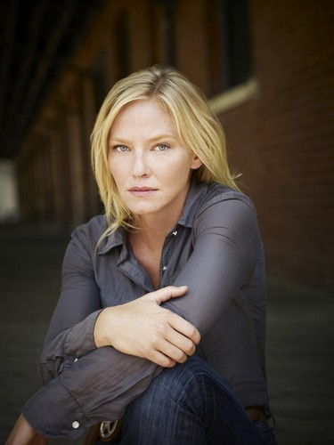Kelli Giddish wallpaper possibly with a well dressed person and a hip boot entitled 'Chase' Photoshoot