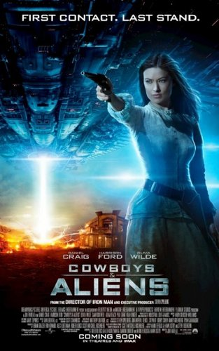 'Cowboys & Aliens' Poster ~ Olivia Wilde as Ella Swenson