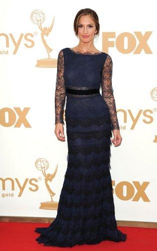 Minka Kelly at the 63rd Primetime Emmy Awards (September 18).