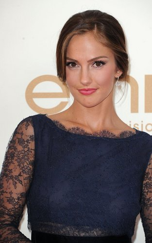 Minka Kelly at the 63rd Primetime Emmy Awards (September 18).