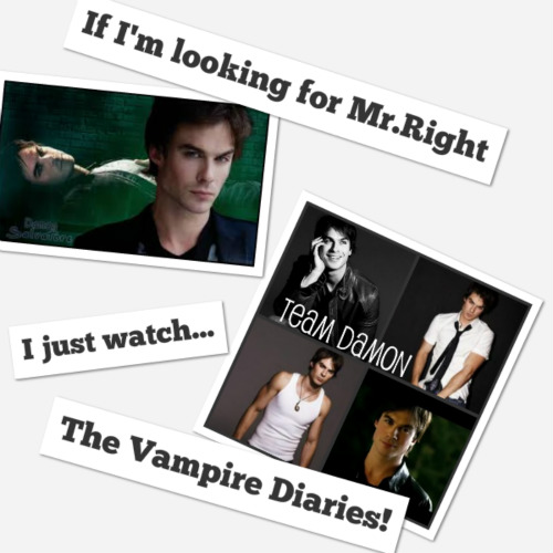  My Mr.Right is Damon Salvatore - damon-salvatore Photo