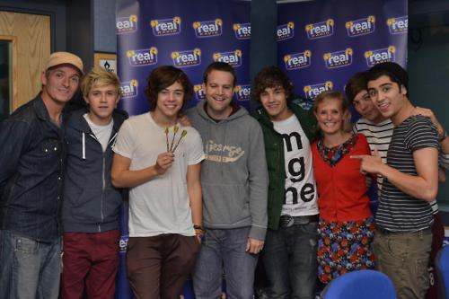 1D on 'Real' Radio! | 13th September 2011! ♥