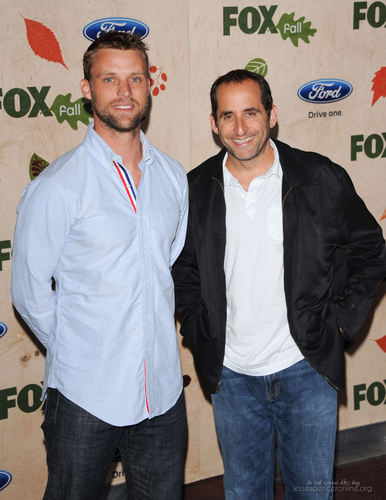 Peter Jacobson wallpaper entitled 2011 FOX Fall Eco-Casino Party [September 12, 2011]