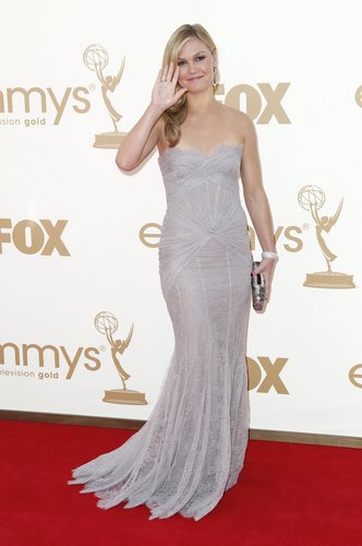 Julia Stiles wallpaper containing a dinner dress and a cocktail dress entitled 63rd Primetime Emmy Awards