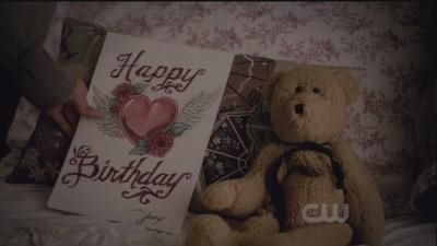A birthday card for Elena from Stefan?