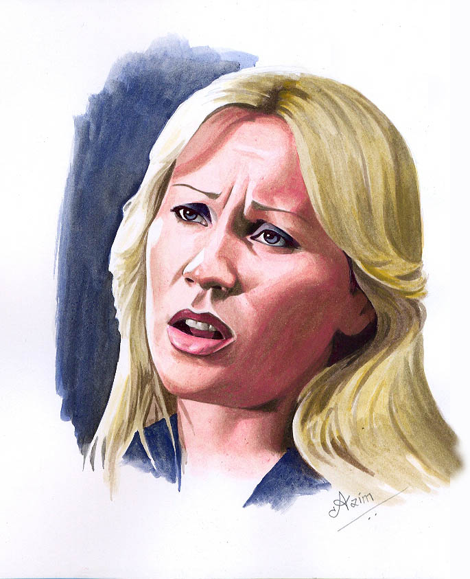 Agnetha painting