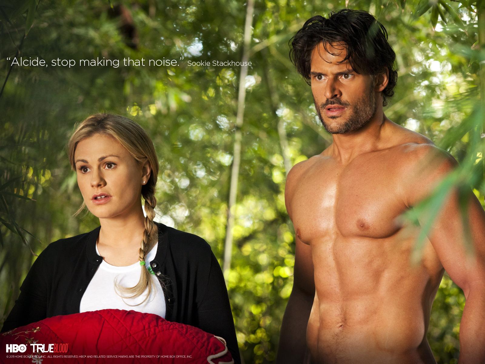 Alcide and Sookie - Season 4