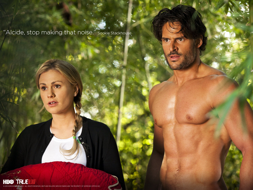 Alcide and Sookie - Season 4
