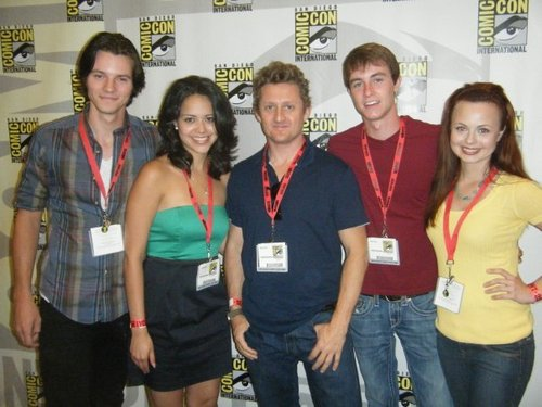 Alien Swarm Cast at Comic Con