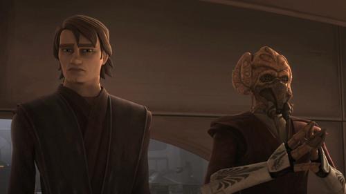 Anakin and Plo Koon