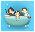 एंन्जल्स Dont Like To Take a Bath <33