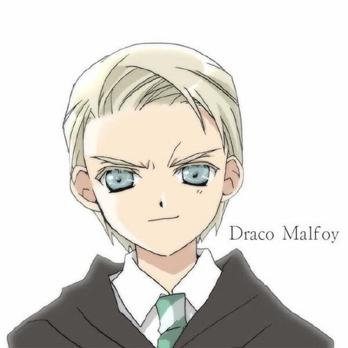 Harry Potter Anime wallpaper called Anime Draco Malfoy