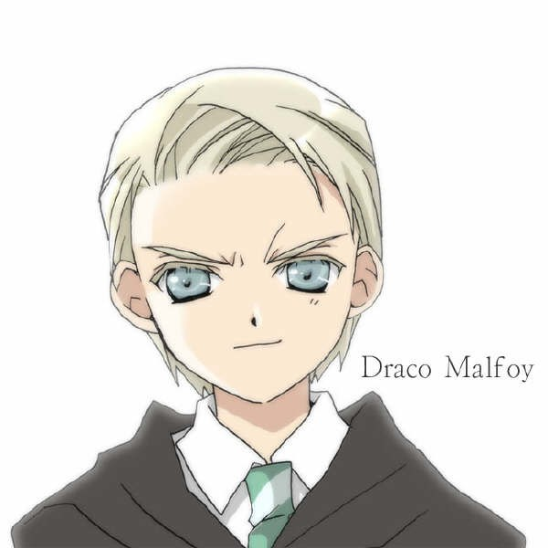 Harry Potter Anime images Anime Draco Malfoy wallpaper ...