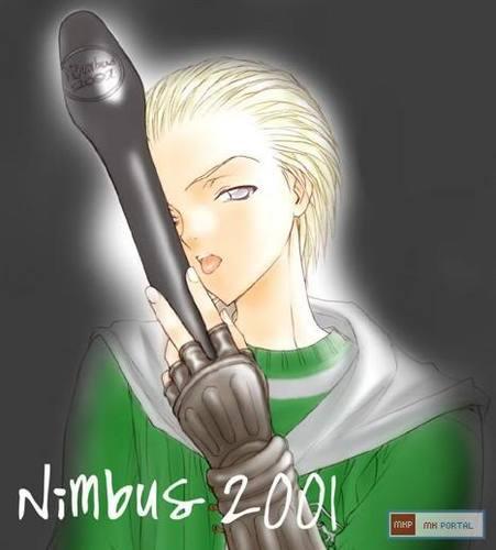 anime Draco Malfoy