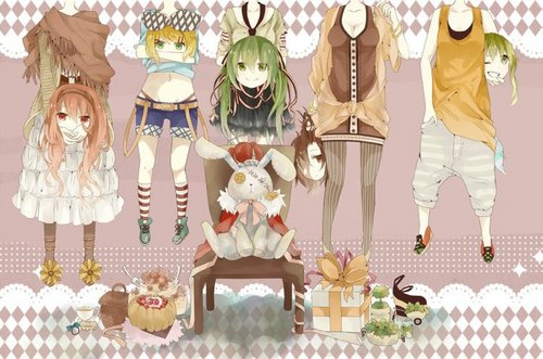 Аниме Girls