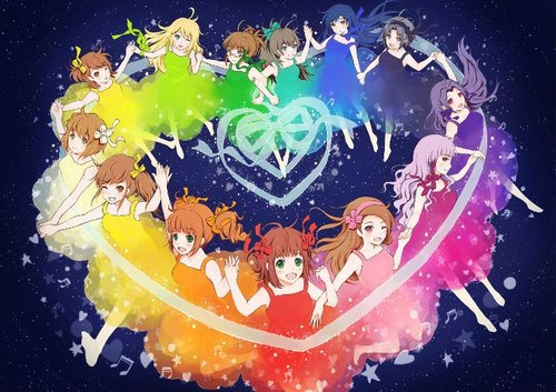 Anime-Mädchen