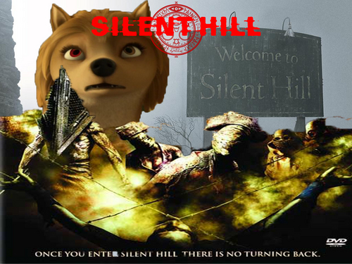 Another Silent bukit, hill Poster!