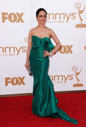 Archie Panjabi  Emmys 2011