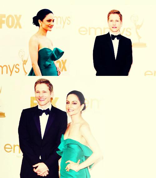 Archie and Matt 2011 Emmys