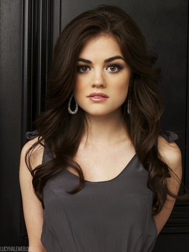 Aria Montgomery wallpaper with a portrait called Aria Season 1 HQ Promos