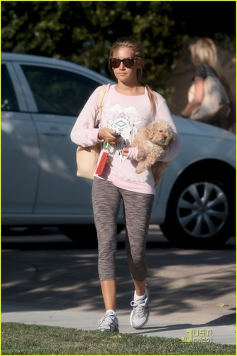 Ashley out in Toluca Lake