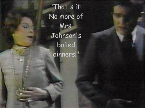 Barnabas and Julia--Funny Captions