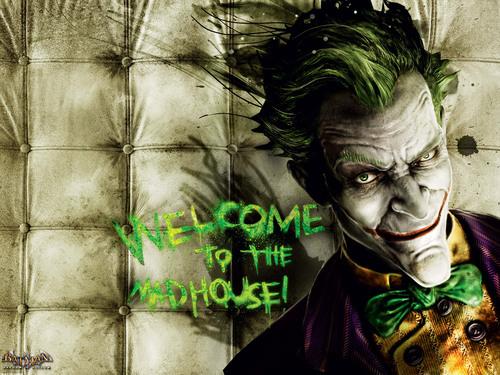 Бэтмен Arkham Asylum
