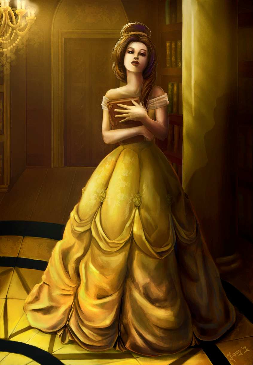 Belle - Disney Princess Fan Art (25409322) - Fanpop