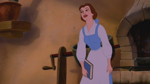 "Belle in ""Beauty and the Beast"" - disney-princess Screencap"