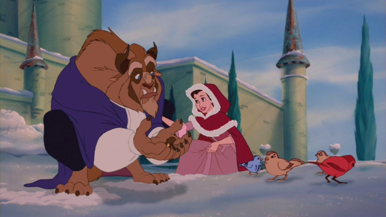 the character development of belle in the story beauty and the beast