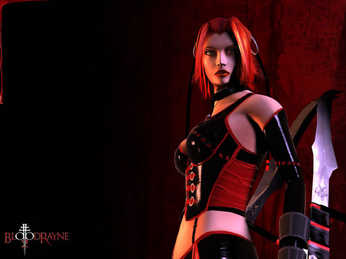 Video Games achtergrond probably containing tights and a legging called Bloodrayne