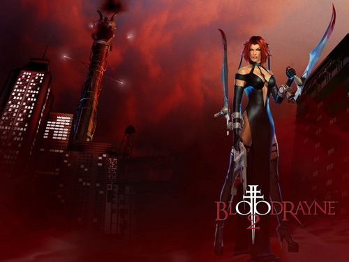 Video Games achtergrond containing a concert titled Bloodrayne