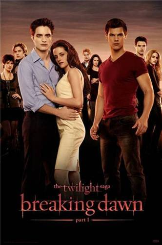 Breaknig Dawn poster