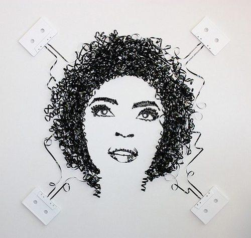 Cassette Tape portrait