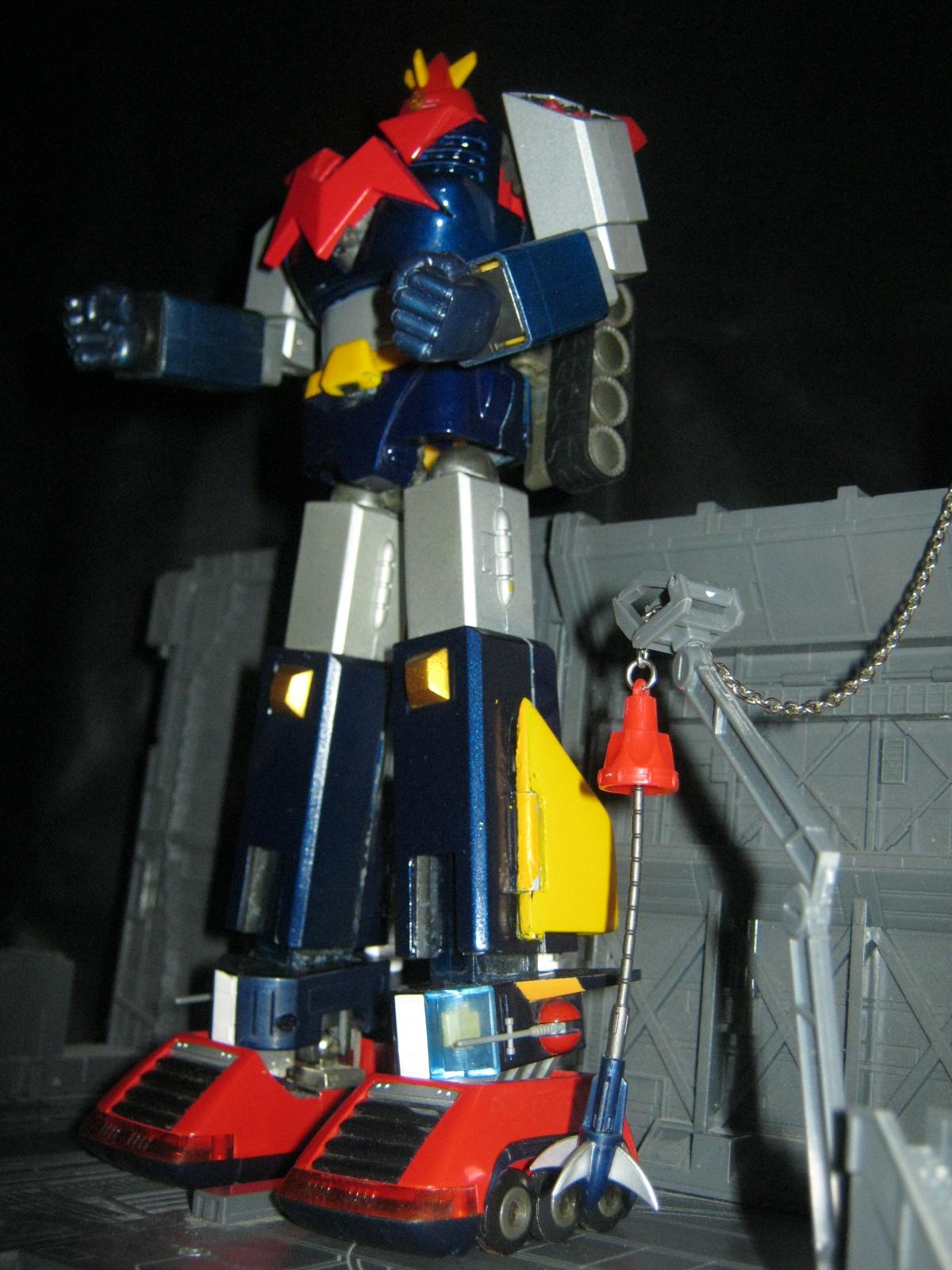 Chodenji Mashin Voltes V Robots
